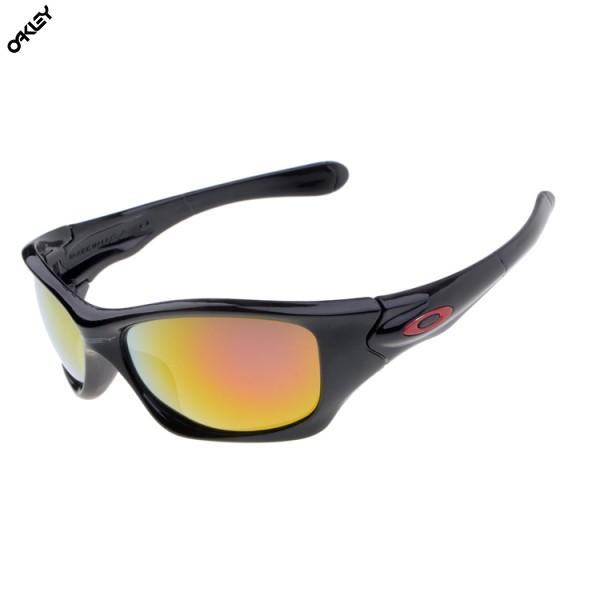 5d32d2c37a Oakley Polarized Half Jacket 12 800 Jet Black Black Iridium Sunglasses